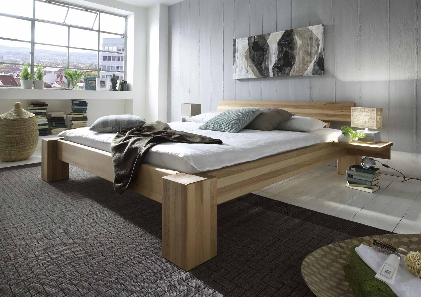 betten buche versandkostenfrei und g nstig online kaufen massiva m. Black Bedroom Furniture Sets. Home Design Ideas