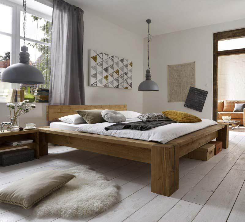 massivholzbett thomas 2 von sc koks 180x200 cm g nstig massiva m. Black Bedroom Furniture Sets. Home Design Ideas