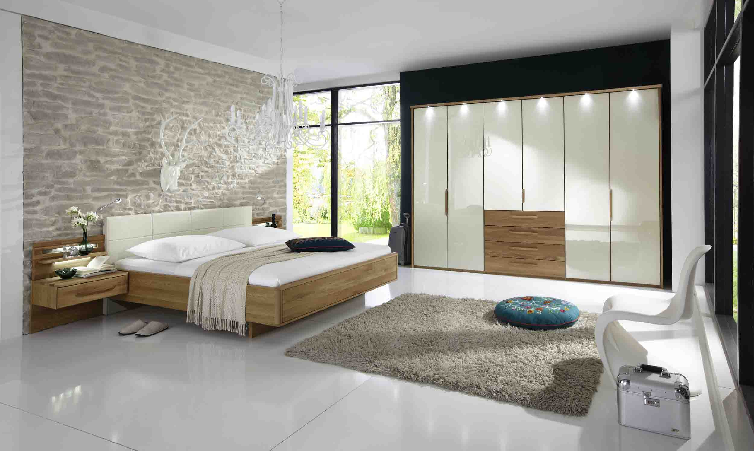 schlafzimmer wiemann torino g nstig massiva m. Black Bedroom Furniture Sets. Home Design Ideas