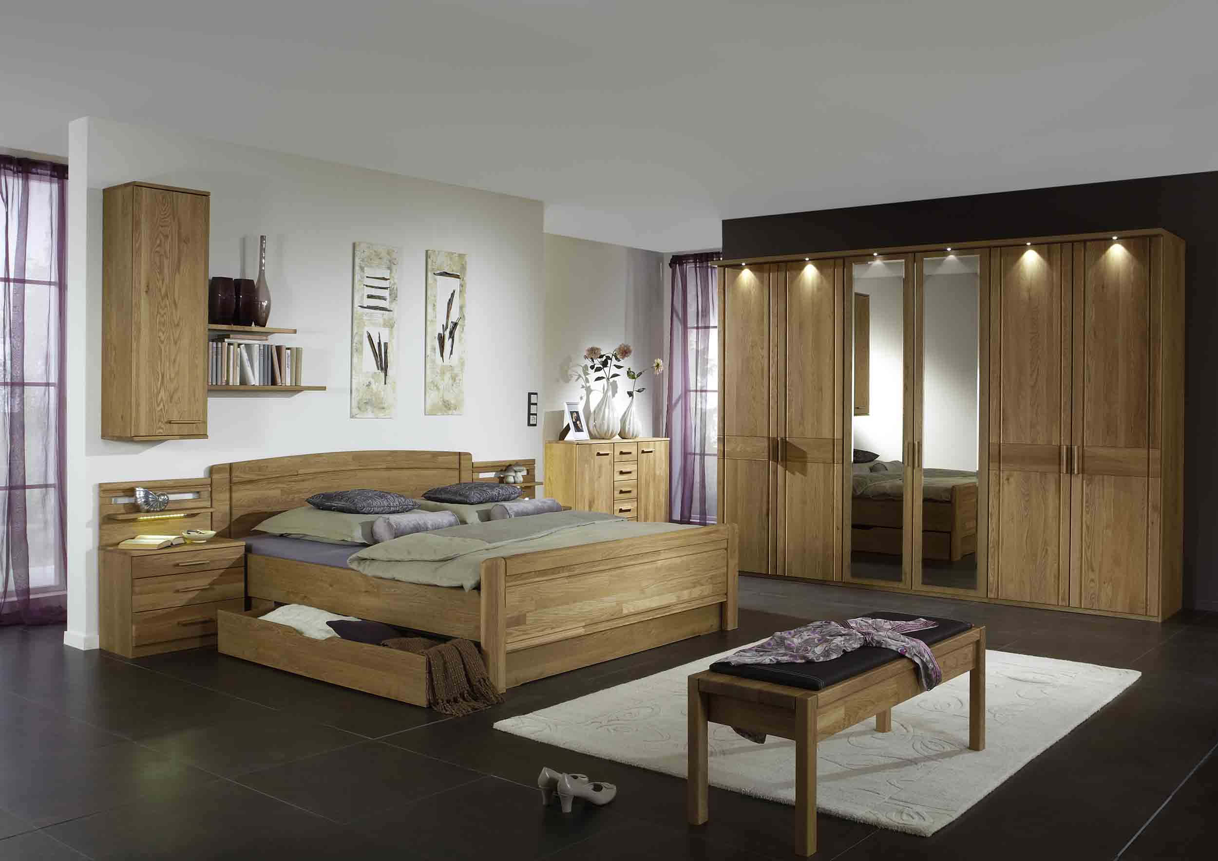 schlafzimmer wiemann m nster g nstig online kaufen massiva m. Black Bedroom Furniture Sets. Home Design Ideas