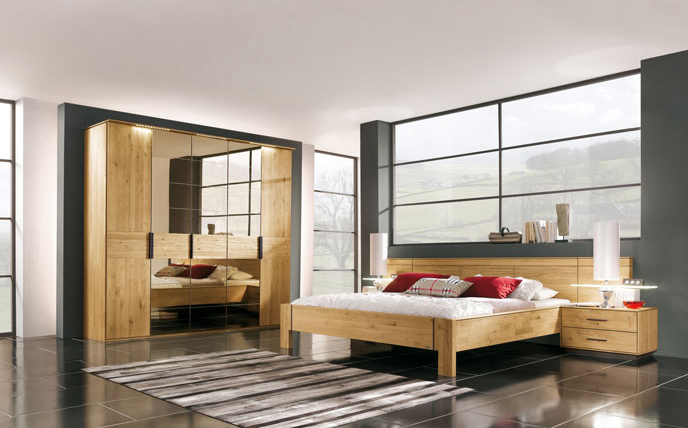 thielemeyer mira schlafzimmer g nstig massiva m. Black Bedroom Furniture Sets. Home Design Ideas