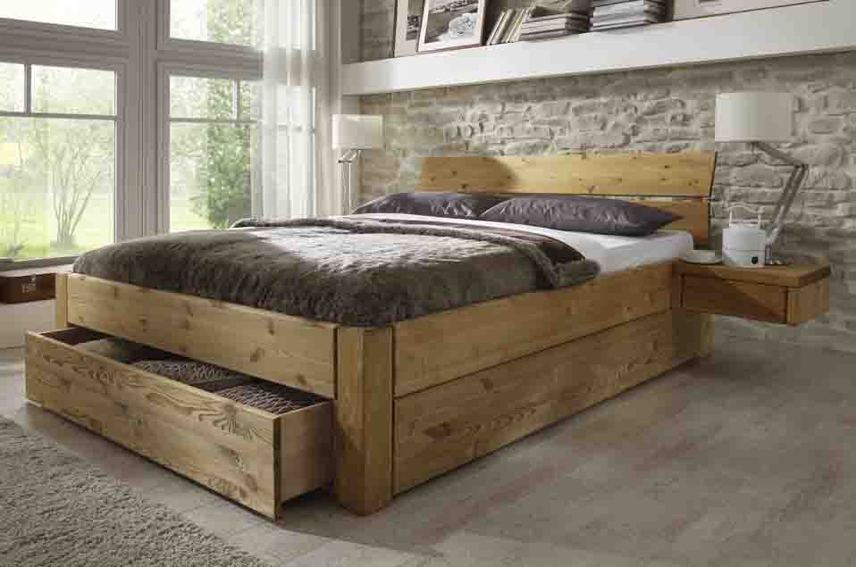 schubladenbetten in kiefer g nstig massiva m. Black Bedroom Furniture Sets. Home Design Ideas