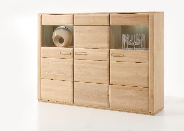 highboard sena in eiche bianco ge lt von mca g nstig. Black Bedroom Furniture Sets. Home Design Ideas