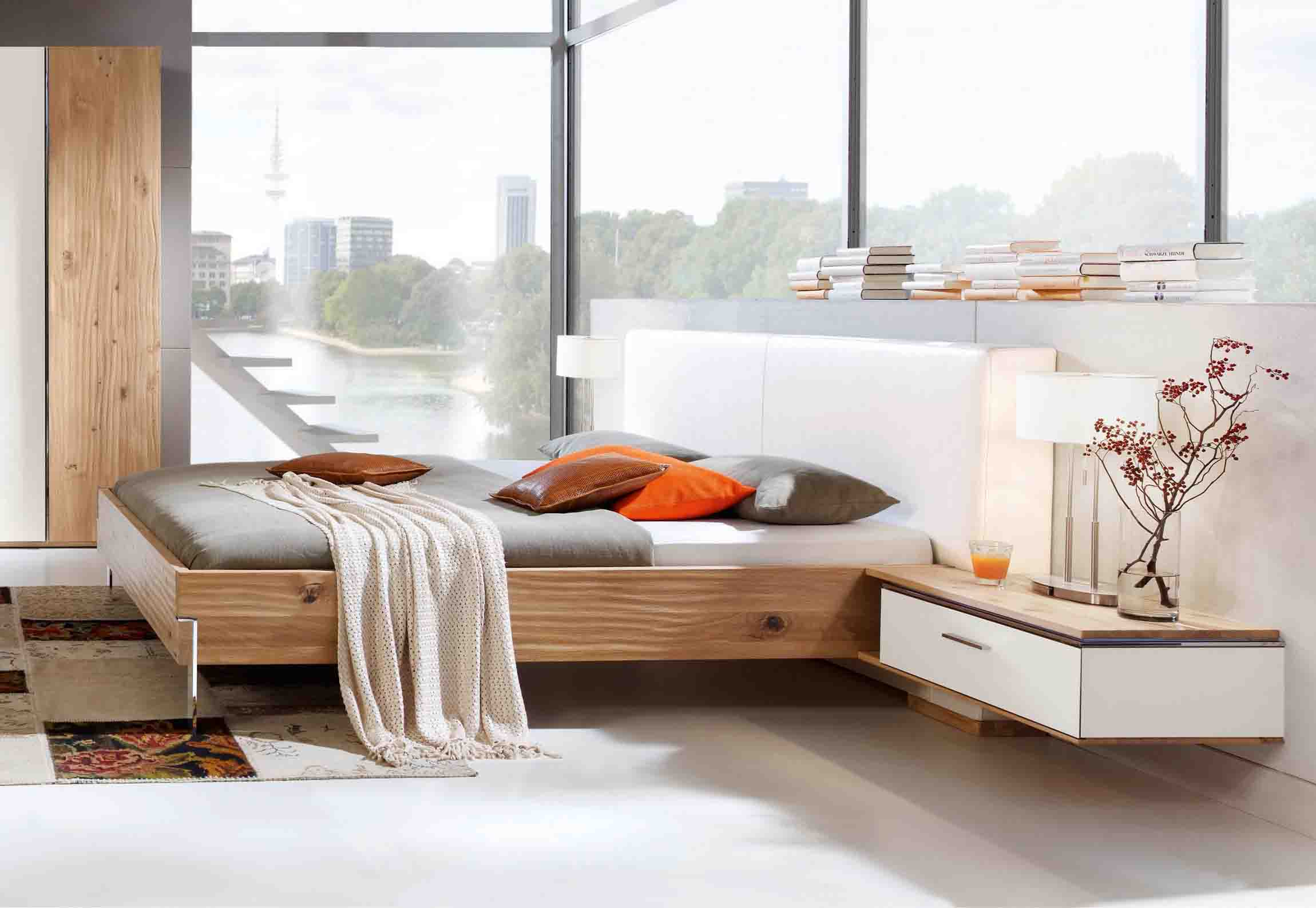 bett thielemeyer loft eiche g nstig massiva m. Black Bedroom Furniture Sets. Home Design Ideas