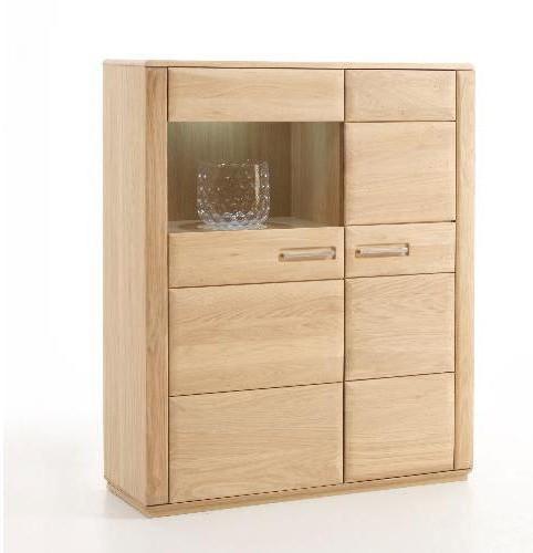 kombi highboard sena in eiche bianco ge lt mca angebot massiva m. Black Bedroom Furniture Sets. Home Design Ideas
