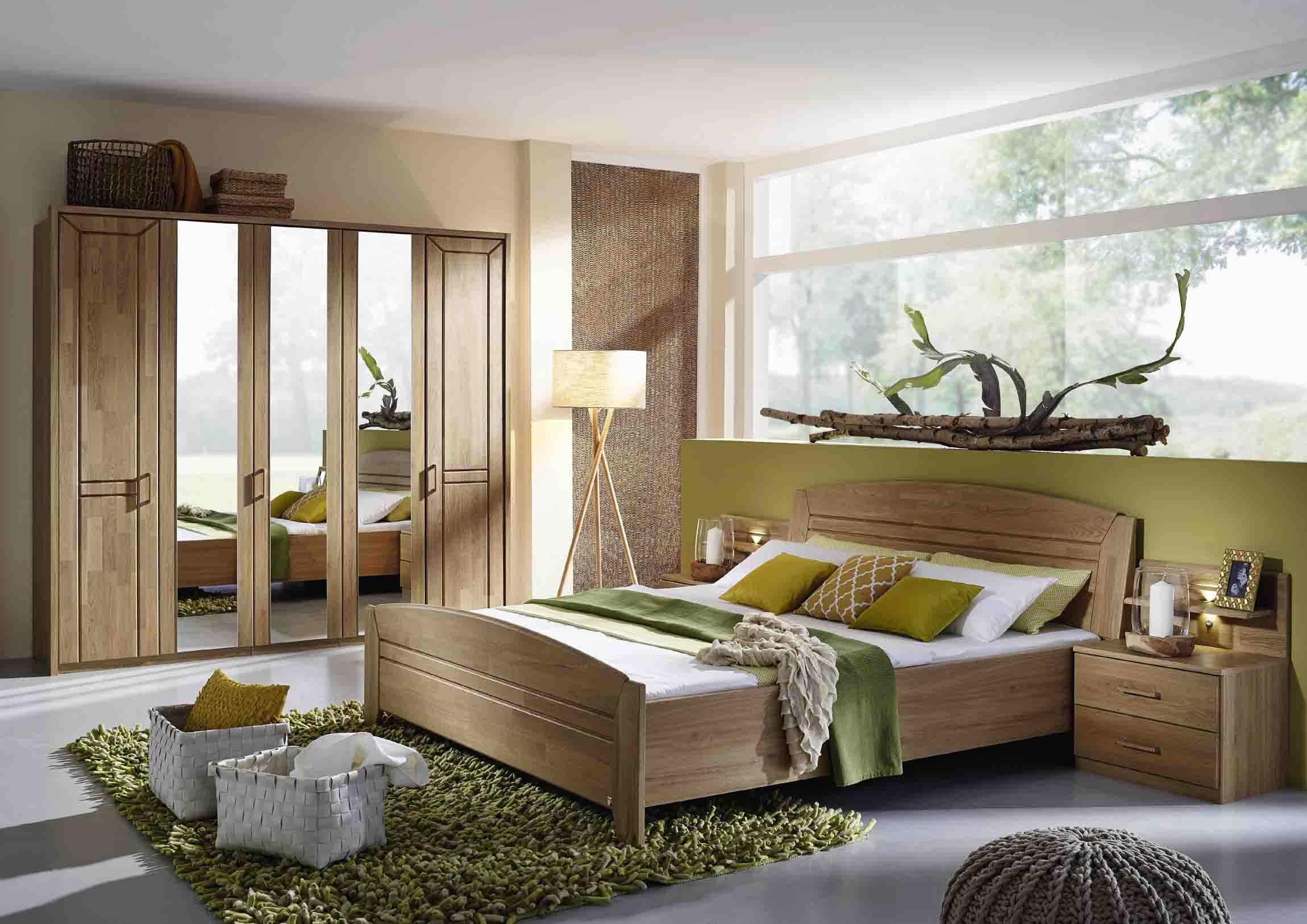 schlafzimmer silvana wildeiche natur teilmassvi steffen massiva m. Black Bedroom Furniture Sets. Home Design Ideas