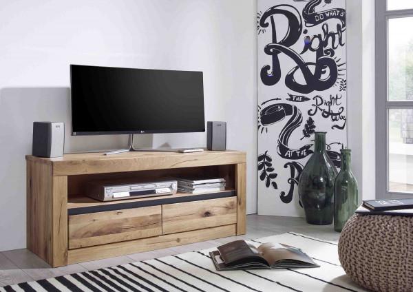 TV-Kommode 1 WZ-0181 in Wildeiche massiv geöl