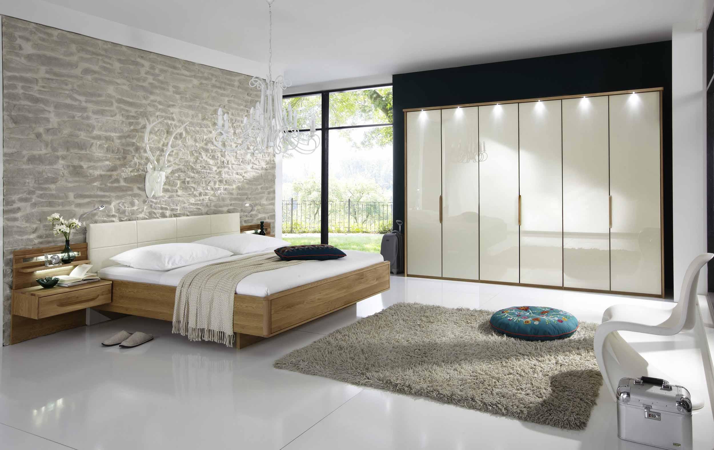 schlafzimmer torino eiche glas magnolie g nstig massiva. Black Bedroom Furniture Sets. Home Design Ideas