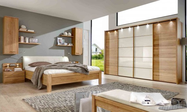 Schlafzimmer Toledo mit Schwebetüren Höhe 236 cm Wiemann