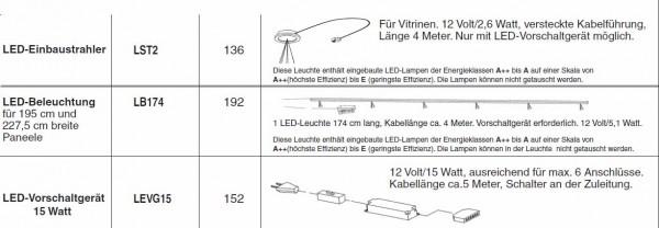 Beleuchtungspaket für die Wohnwand Felino FE 31