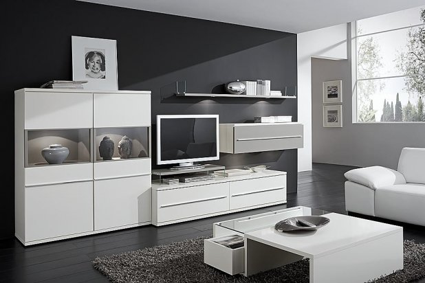 wohnwand kito loddenkemper g nstig massiva m. Black Bedroom Furniture Sets. Home Design Ideas