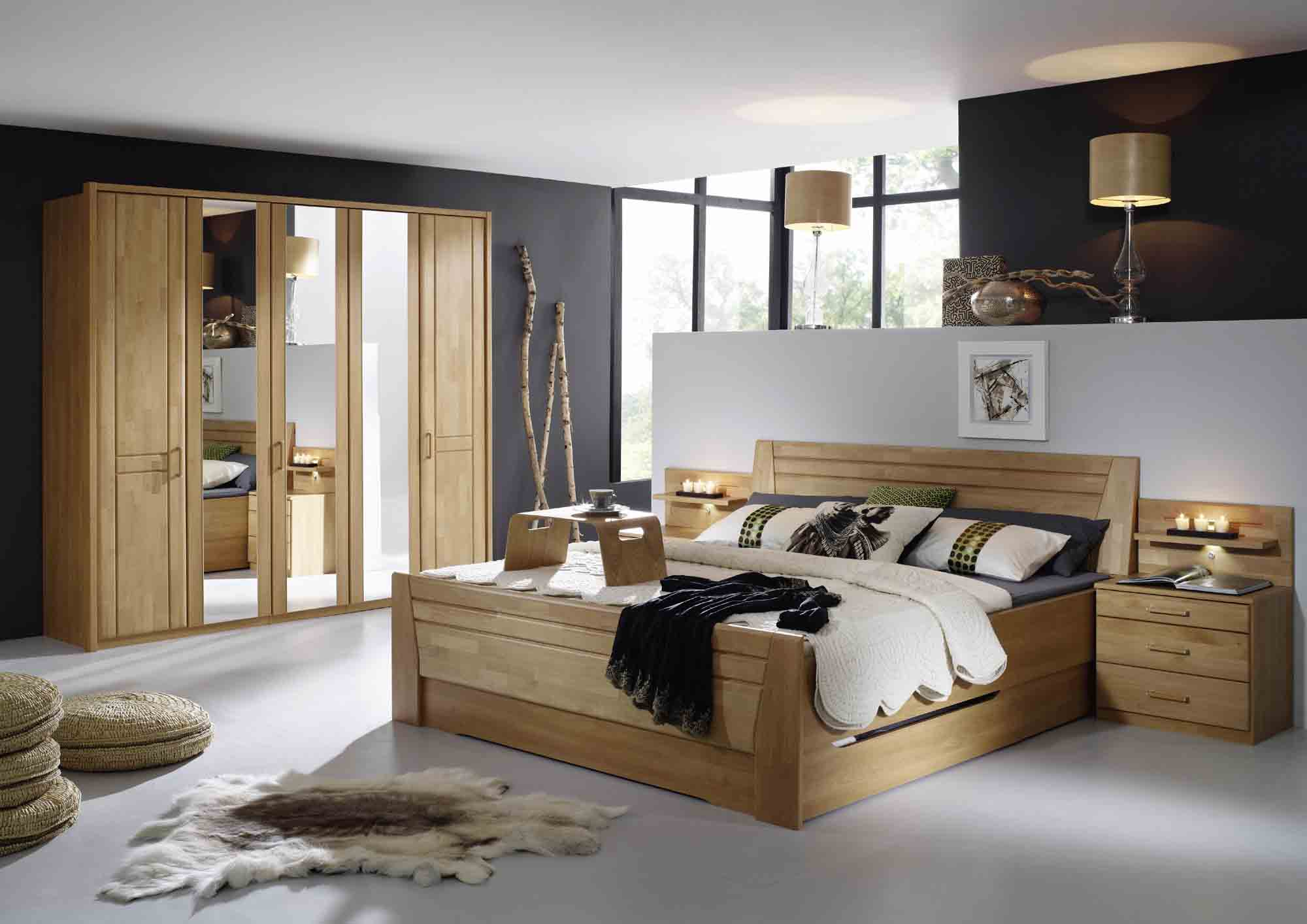 schlafzimmer br gge wiemann erle g nstig massiva m. Black Bedroom Furniture Sets. Home Design Ideas