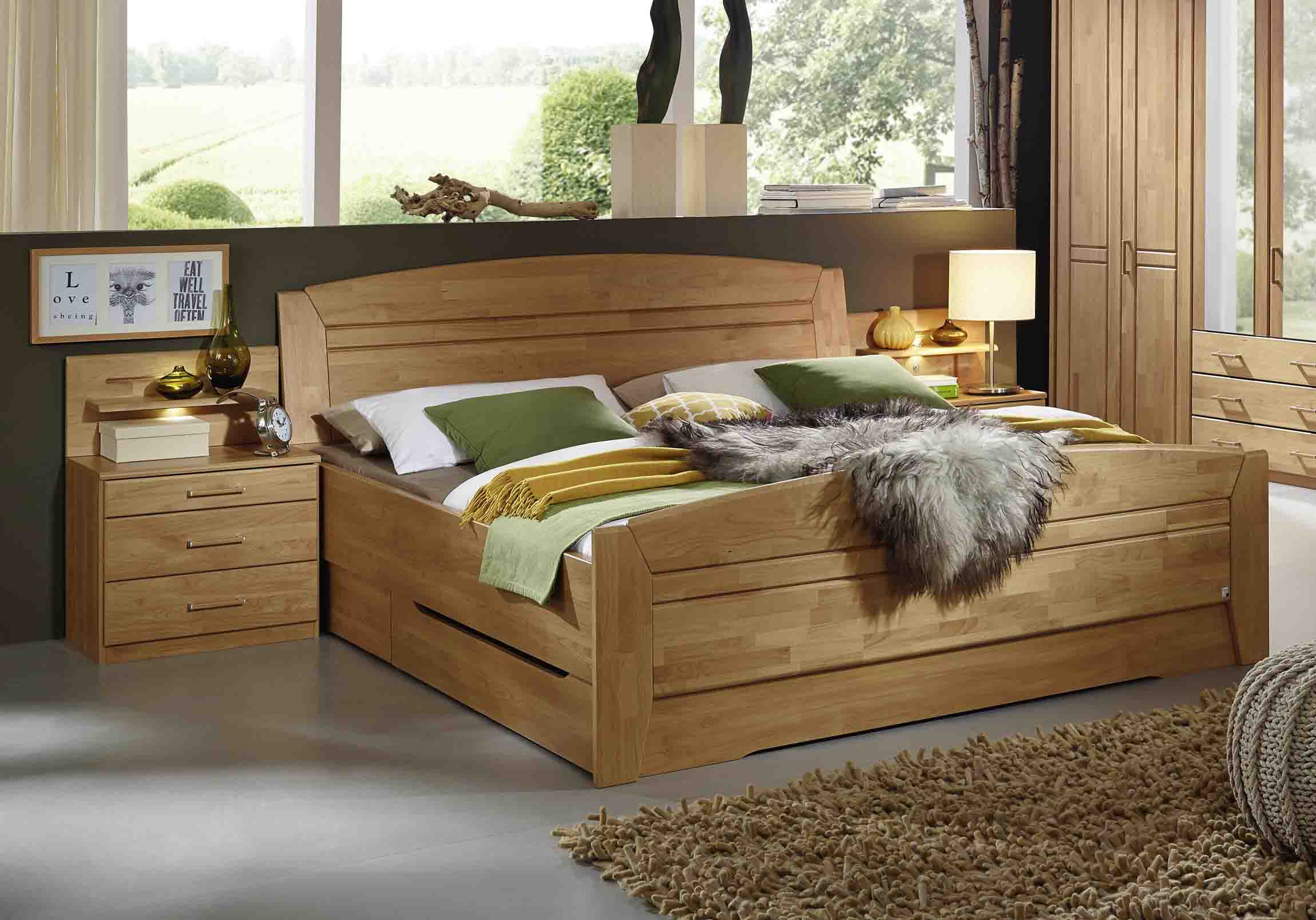 betten erle versandkostenfrei und g nstig online kaufen massiva m. Black Bedroom Furniture Sets. Home Design Ideas