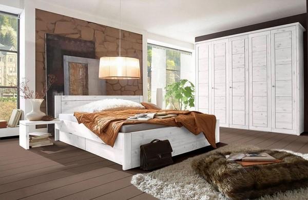 Schlafzimmer Vita Kiefer massiv 5-türig | Massiva Möbel.de