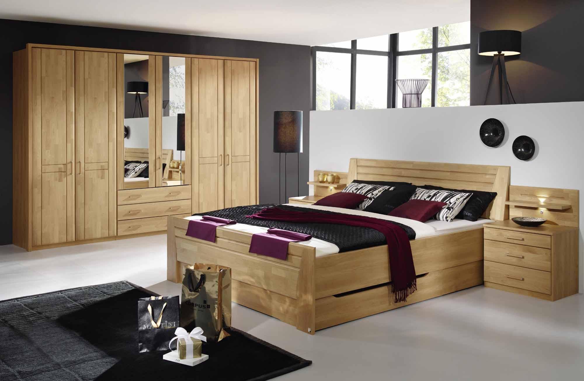 schlafzimmer br gge in erle online kaufen massiva m. Black Bedroom Furniture Sets. Home Design Ideas