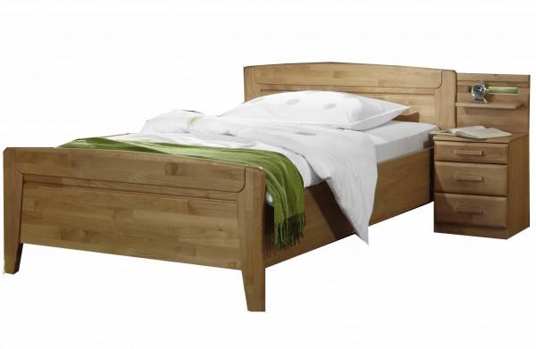 Komfort-Bett Lausanne mit Nachtkonsole, Wiemann
