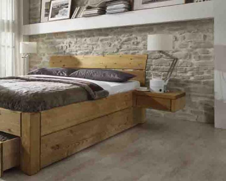 schubladenbetten in kiefer g nstig massiva. Black Bedroom Furniture Sets. Home Design Ideas