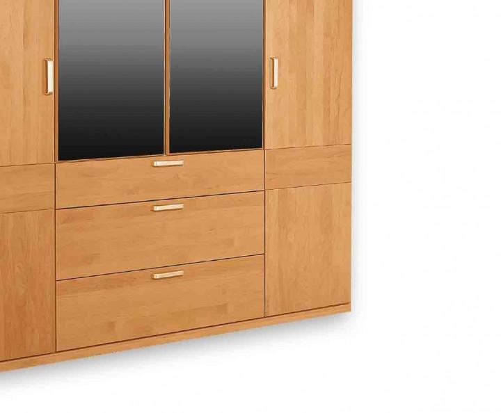 nova kleiderschrank kernbuche g nstig massiva m. Black Bedroom Furniture Sets. Home Design Ideas