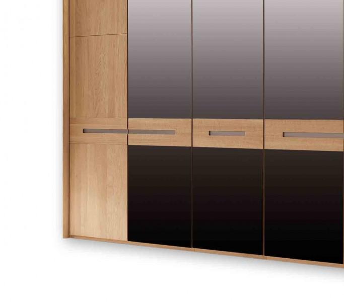 kleiderschrank casa in eiche g nstig massiva. Black Bedroom Furniture Sets. Home Design Ideas