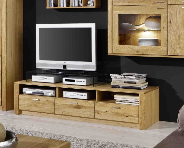 tv unterschrank chalet in eiche phonowagen tv media m bel wohnzimmer massiva moebel. Black Bedroom Furniture Sets. Home Design Ideas