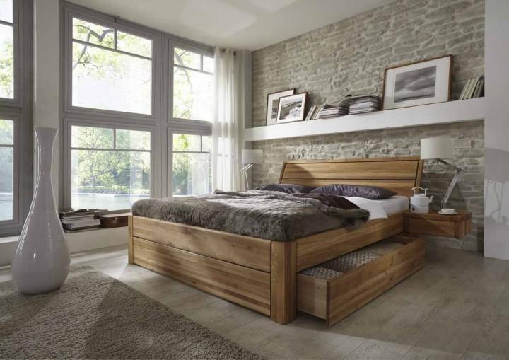 massivholzbett loft von tj rnbo g nstig massiva m. Black Bedroom Furniture Sets. Home Design Ideas