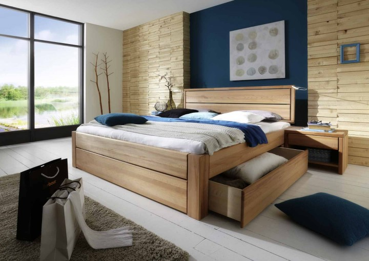 schubladenbetten massiv g nstig massiva m. Black Bedroom Furniture Sets. Home Design Ideas