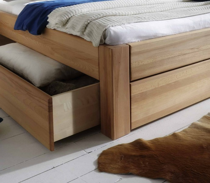 schubladenbetten massiv g nstig massiva m. Black Bedroom Furniture Sets. Home Design Ideas