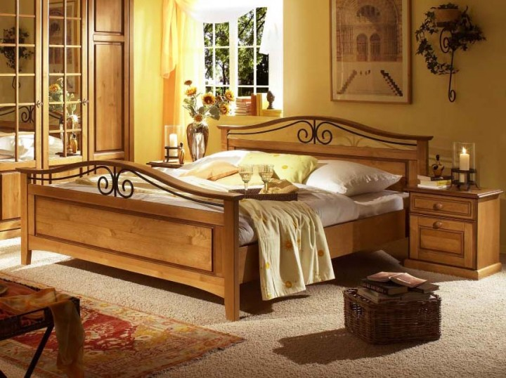 schlafzimmer florenz pinie teilmassiv g nstig massiva m. Black Bedroom Furniture Sets. Home Design Ideas