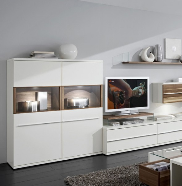 wohnwand kito loddenkemper 9777 massiva m. Black Bedroom Furniture Sets. Home Design Ideas