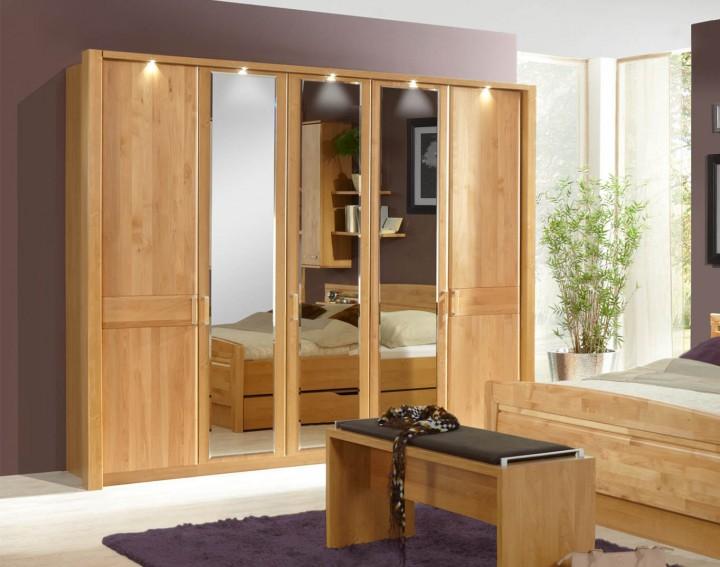 wiemann schlafzimmer lausanne 5 t rig massiva m. Black Bedroom Furniture Sets. Home Design Ideas