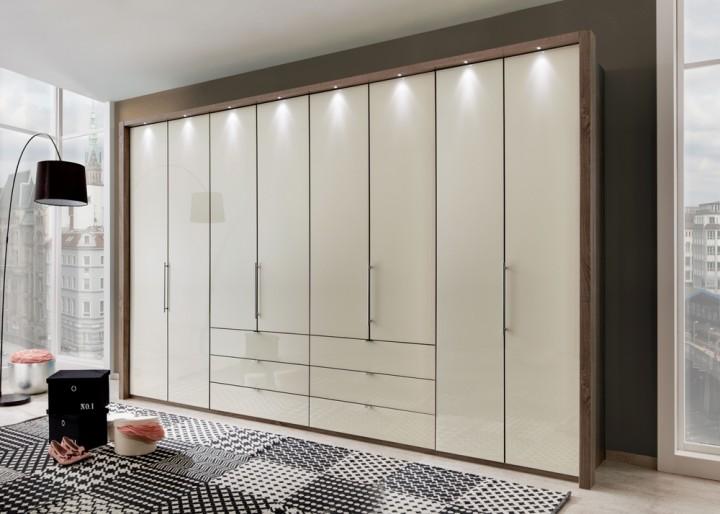 kleiderschrank loft 400 cm wiemann g nstig massiva m. Black Bedroom Furniture Sets. Home Design Ideas