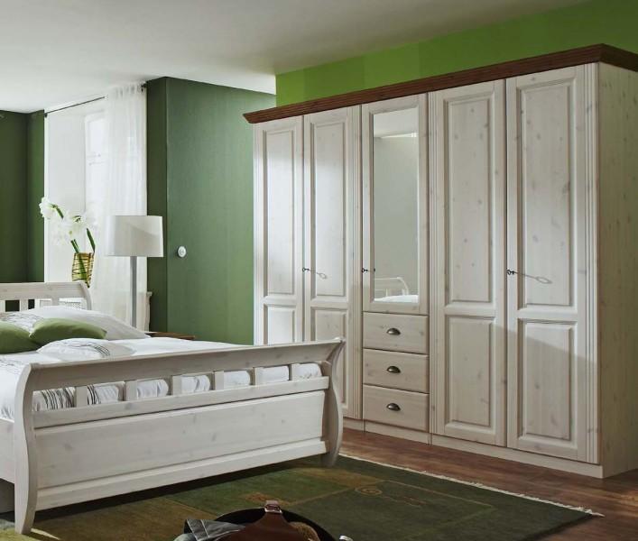 schlafzimmer landhausstil kiefer: komplettschlafzimmer kiefer ... - Schlafzimmer Kiefer Massiv Weis