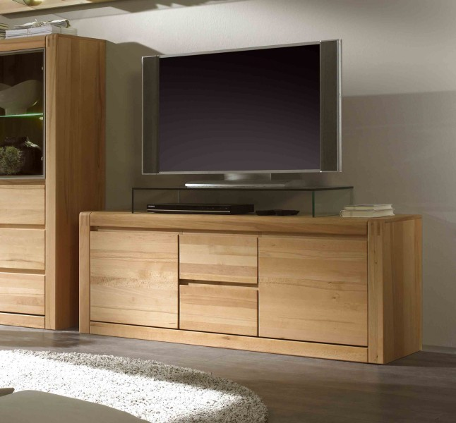 tv lowboard ponto interfurn g nstig massiva m. Black Bedroom Furniture Sets. Home Design Ideas