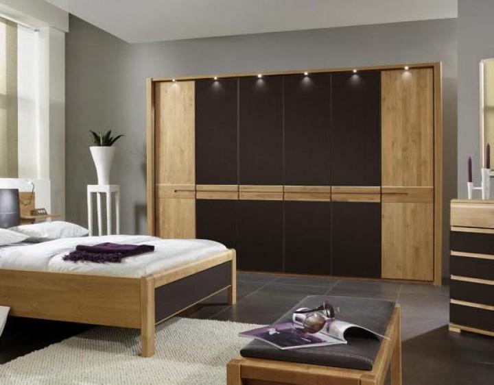 kleiderschrank williams erle mocca kleiderschr nke erle kleiderschr nke schr nke massiva. Black Bedroom Furniture Sets. Home Design Ideas
