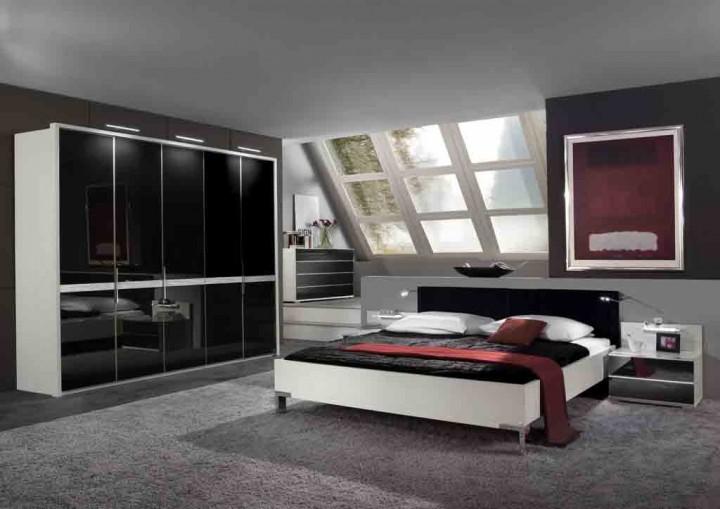 schlafzimmer modern schwarz wei – bigschool, Wohnzimmer design