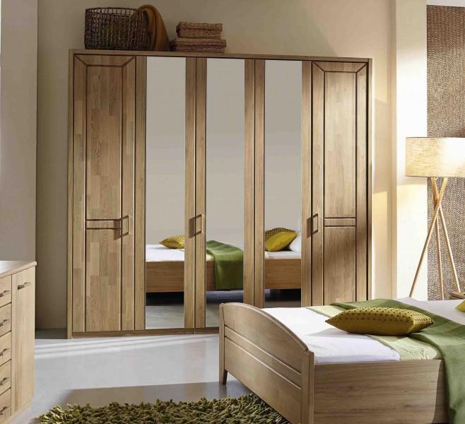 schlafzimmer silvana erle teilmassvi steffen g nstig massiva m. Black Bedroom Furniture Sets. Home Design Ideas