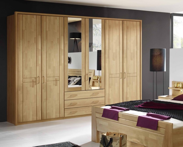 schlafzimmer br gge in erle online kaufen massiva m. Black Bedroom Furniture Sets. Home Design Ideas
