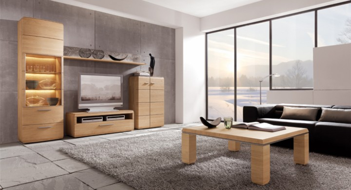 wohnwand trento von hartmann g nstig massiva m. Black Bedroom Furniture Sets. Home Design Ideas
