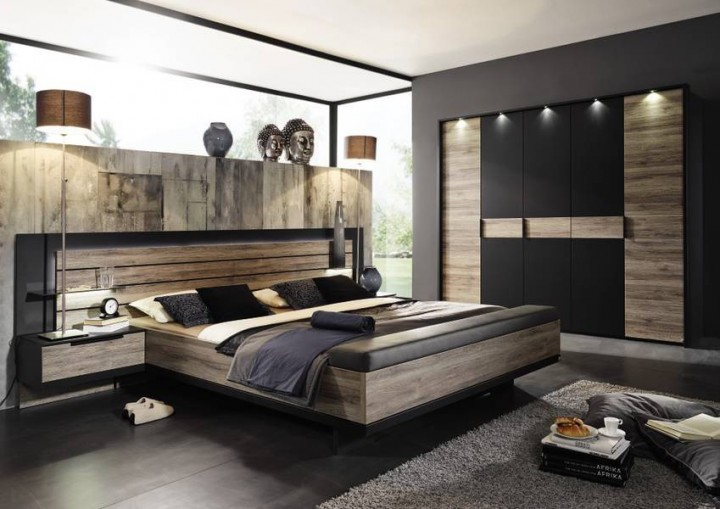 schlafzimmer weiss mit eiche landhaus modern die neuesten innenarchitekturideen. Black Bedroom Furniture Sets. Home Design Ideas